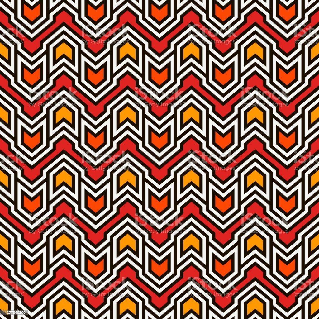 矢印とポインタを持つシームレスなパターンシェブロンの壁紙部族と民族のモチーフネイティブアメリカンの装飾 まぶしいのベクターアート素材や画像を多数ご用意 Istock
