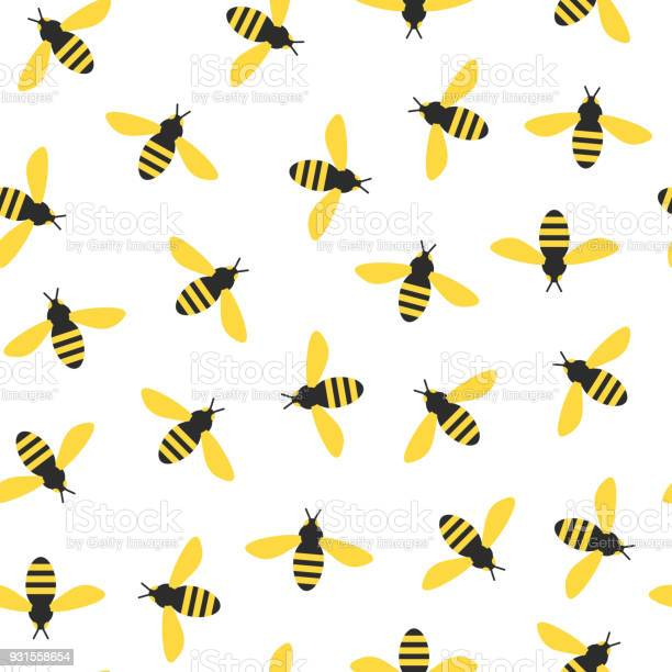 Seamless pattern with bees vector id931558654?b=1&k=6&m=931558654&s=612x612&h=fnymuiw0q aqjapg6zgwn6y oafpqya9fcapp0psoos=