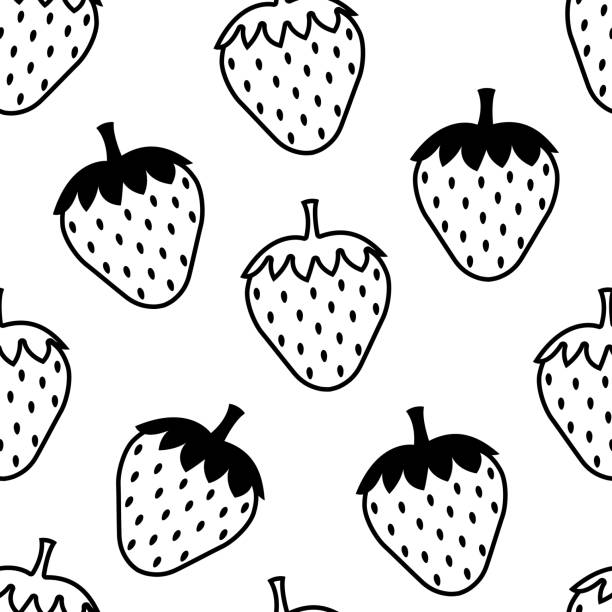 Royalty Free Strawberry Background Clip Art, Vector Images ...