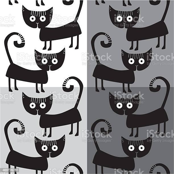 Seamless pattern with black cats vector id469776781?b=1&k=6&m=469776781&s=612x612&h=eqi0a4qhzzeu3y63cec mkqi jtxfc sxv 3gsklqmw=