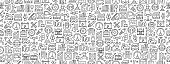 istock Seamless Pattern with Car Service Icons 1226504936