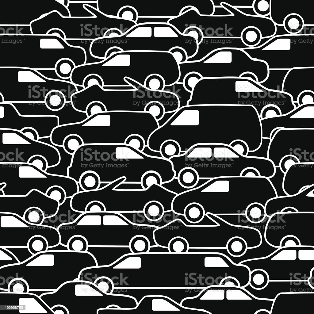 Seamless pattern with cars royalty-free seamless pattern with cars stock vector art & more images of abstract