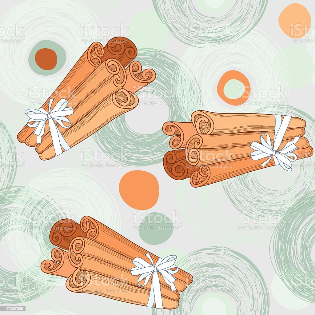 Seamless pattern with cinnamon sticks royalty-free seamless pattern with cinnamon sticks stock vector art & more images of aromatherapy