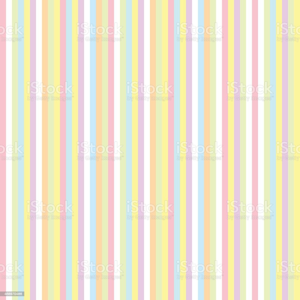 Seamless pattern with color stripes vector art illustration