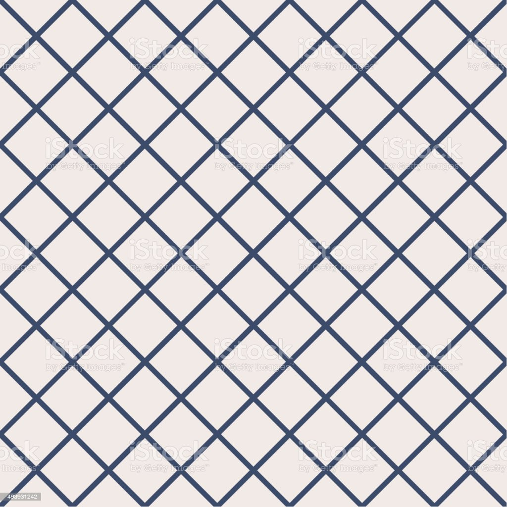 Seamless pattern with cross lines vector art illustration