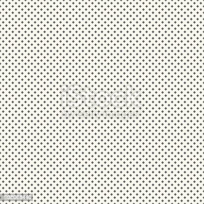 Seamless pattern with crosses, vector illustration. EPS 10.