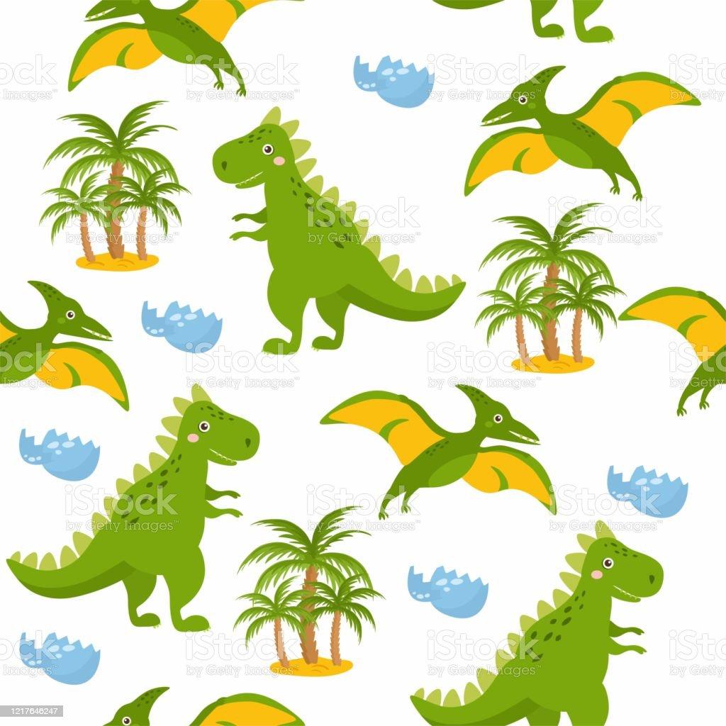 Ilustracion De Patron Sin Costuras Con Dinosaurios Lindos Dinosaurios Lindos Aislados Sobre Fondo Blanco Ilustracion Infantil Divertido Dibujos Animados Dino Palmas Huevos De Dinosaurio Y Mas Vectores Libres De Derechos De Animal Los dinosaurios dominaron la tierra durante millones de años hasta que misteriosamente los primeros dinosaurios evolucionaron de los arcosaurios en la última parte del período triásico. ilustracion de patron sin costuras con dinosaurios lindos dinosaurios lindos aislados sobre fondo blanco ilustracion infantil divertido dibujos animados dino palmas huevos de dinosaurio y mas vectores libres de derechos de animal