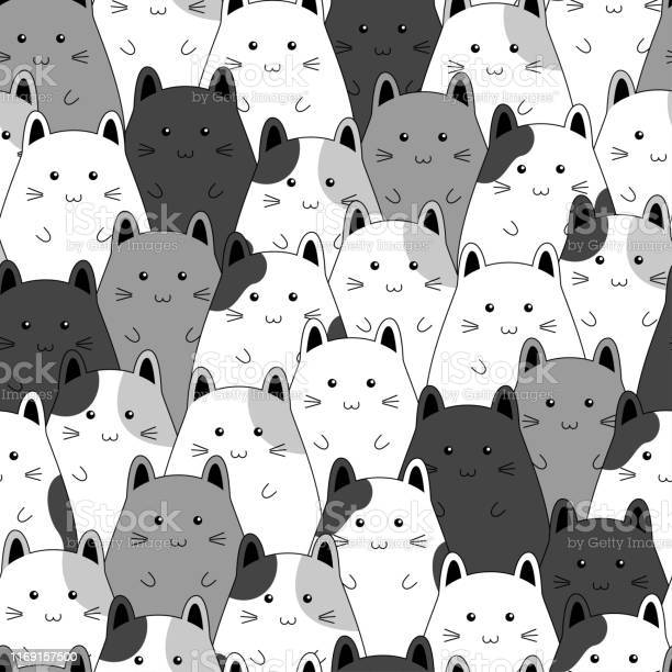 Seamless pattern with cute kitten family cartoon vector illustration vector id1169157500?b=1&k=6&m=1169157500&s=612x612&h=w q2zgkynkuipouvednxy2raazalbkxioi7m8g4y5au=