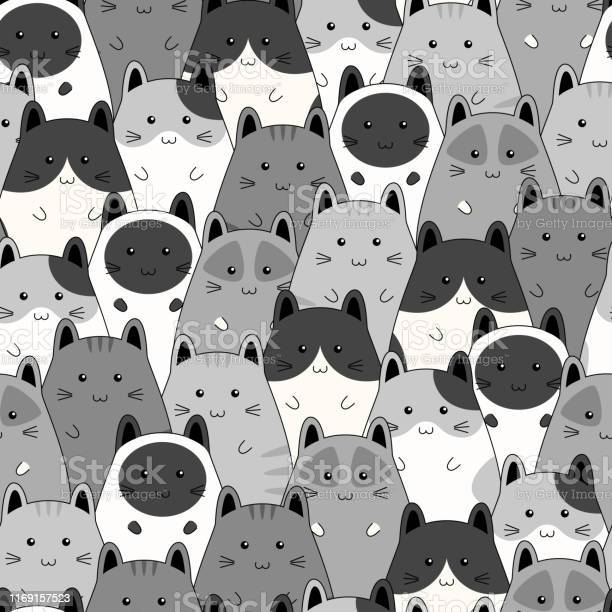 Seamless pattern with cute kitten family cartoon vector illustration vector id1169157523?b=1&k=6&m=1169157523&s=612x612&h=turkwkoifnlxk9u3vr3hmqr7ixf3aqcxpjpfjlqf  k=