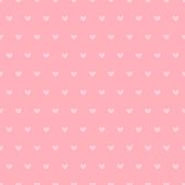 Seamless Pattern with Cute Small Pink Hearts.