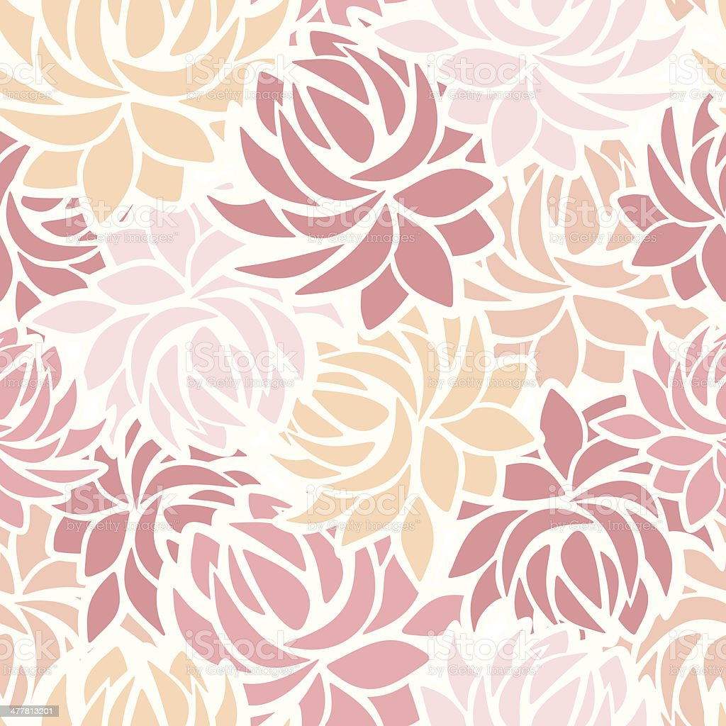 Seamless pattern with dahlia flowers. Vector illustration. royalty-free seamless pattern with dahlia flowers vector illustration stock vector art & more images of abstract