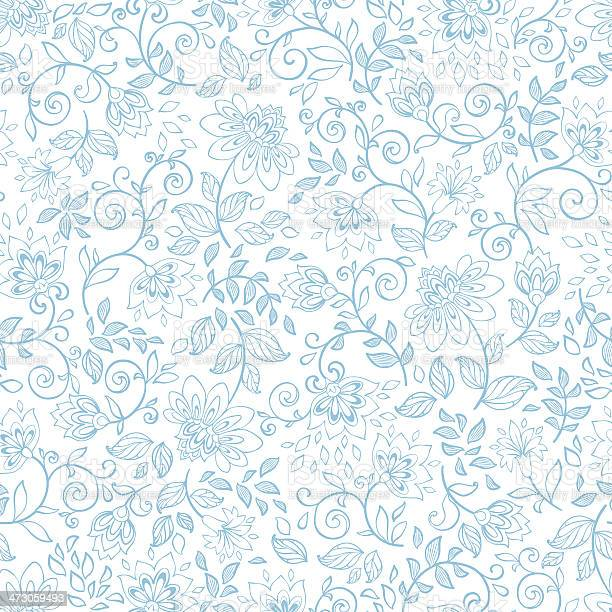 Seamless pattern with decorative flowers vector id473059493?b=1&k=6&m=473059493&s=612x612&h=ap1qc40foxo8jyrzoo32vn0bbmp9v0zpuxpl8odh so=