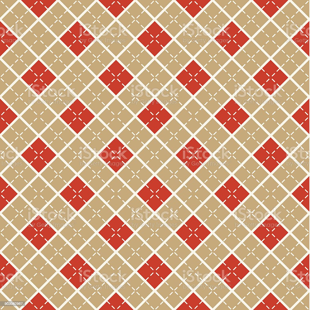 Seamless pattern with diamonds. Vector background. royalty-free stock vector art