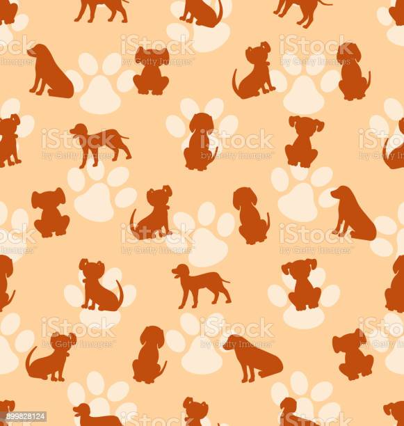 Seamless pattern with different breeds of dogs texture with canines vector id899828124?b=1&k=6&m=899828124&s=612x612&h=hnxc r7uyequkvfiplp mxpb5698kvtmrq0z2lvu a0=