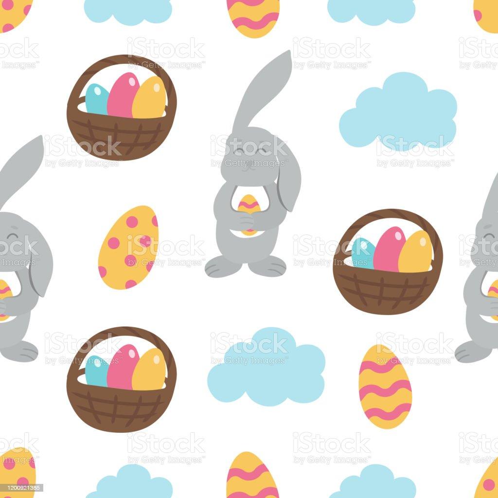 Decoraciones De Pascua-Art Deco-Diseño De Conejitos-Elige