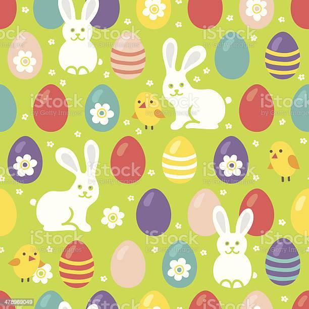 Seamless pattern with easter eggs rabbits and chickens vector id478969049?b=1&k=6&m=478969049&s=612x612&h=p0av2sakdvytblrskx0wu hxsl juumvzjzmjp95fis=
