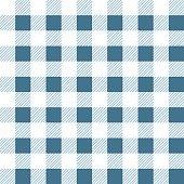 Seamless gingham Fabric pattern