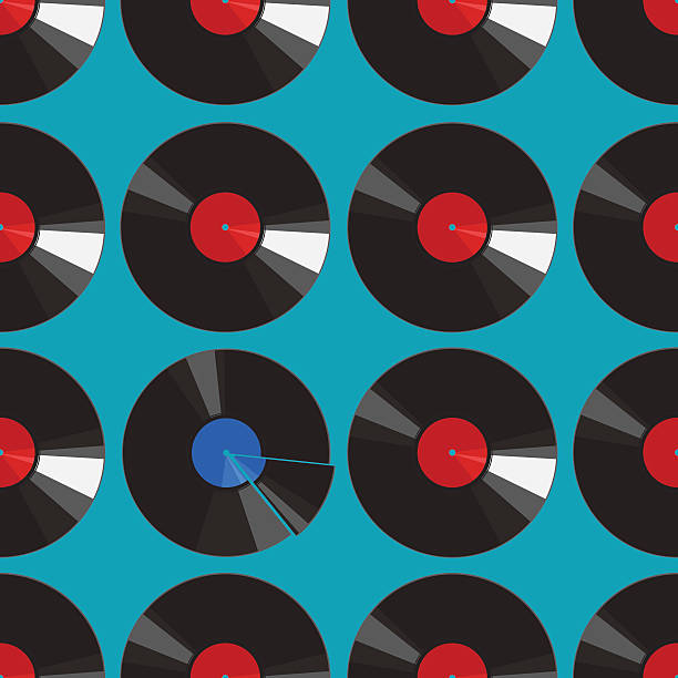 Best Broken Record Illustrations Royalty Free Vector