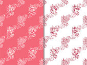 seamless pattern with flower