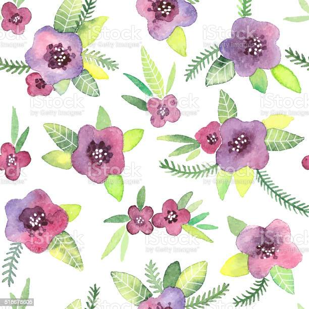 Seamless pattern with flowers in vector vector id518678605?b=1&k=6&m=518678605&s=612x612&h=tpidf4elkbq ix8cklzua1oae9vplrc4rbpxg9iv45a=