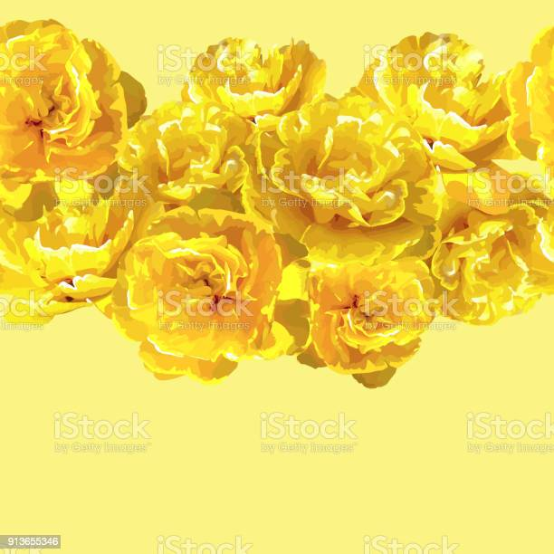 Seamless pattern with fluffy yellow tulips beautiful realistic and vector id913655346?b=1&k=6&m=913655346&s=612x612&h=kim0yzq t59onnhly0e6tbh2yytidqr4lk5c0icegys=