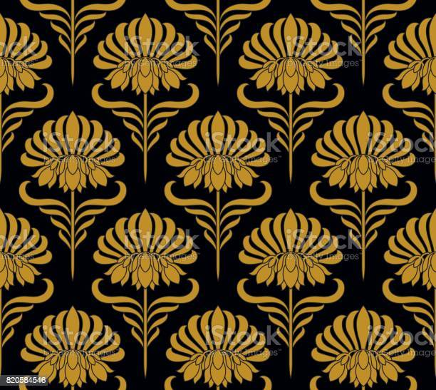 Seamless pattern with golden flowers vector id820584546?b=1&k=6&m=820584546&s=612x612&h=5stsyommijxrf hc5y6tgygeqhiqtmib0 u2ecghjtw=