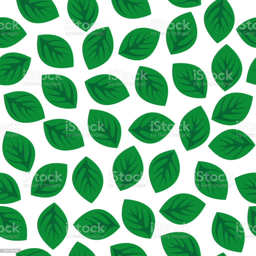 Seamless pattern with green leaves royalty-free seamless pattern with green leaves stock vector art & more images of abstract