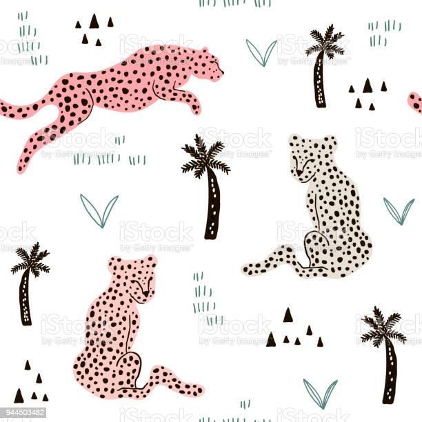 Seamless pattern with hand drawn leopards creative african modern vector id944503482?b=1&k=6&m=944503482&s=612x612&h=  kziub3eru4xem0jwehj0kgjntn0o68gjfmbidxsac=