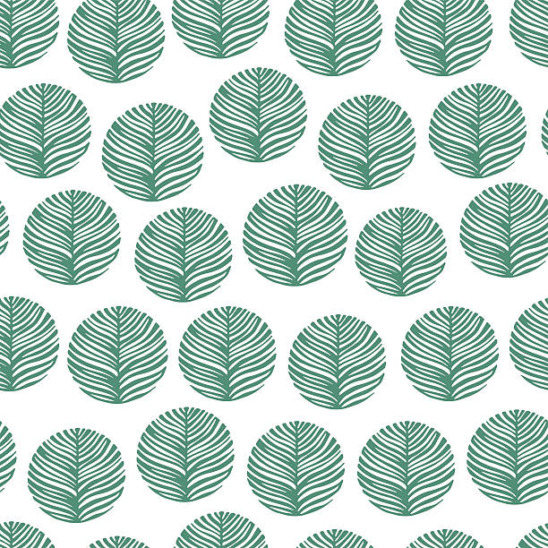 Seamless pattern with hand drawn textures. Eco background. vector art illustration