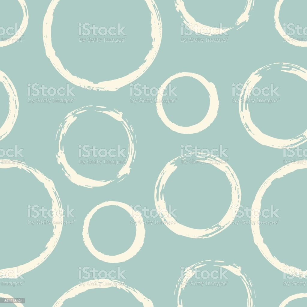 Seamless pattern with hand painted ink circles royalty-free seamless pattern with hand painted ink circles stock vector art & more images of backgrounds