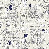 istock seamless pattern with handwritten text lorem ipsum 1283060449