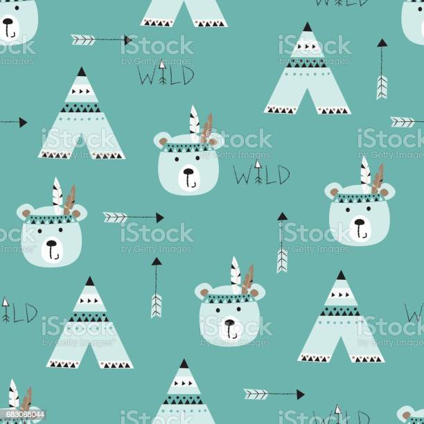 Seamless pattern with indian bears vector id683068044?b=1&k=6&m=683068044&s=612x612&h=dsc4gs706zvjgy sebmxk oz1vnjlxqniimxkgoj1rk=