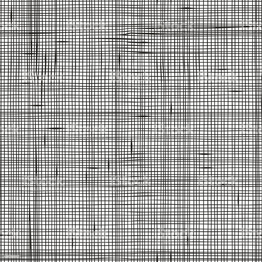 Seamless pattern with linen texture. vector art illustration