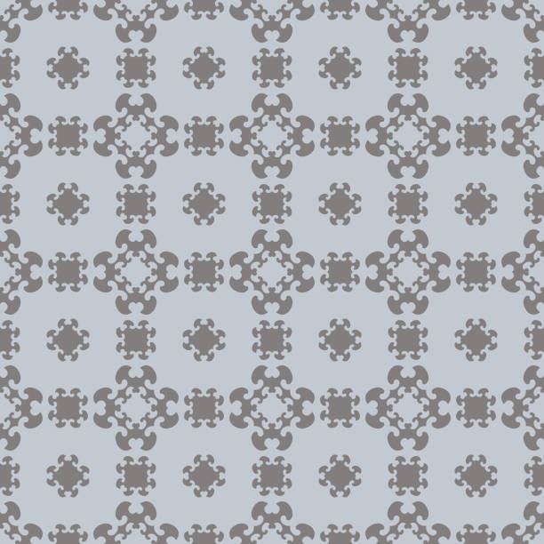 Motif sans couture avec de petits coeurs - Illustration vectorielle