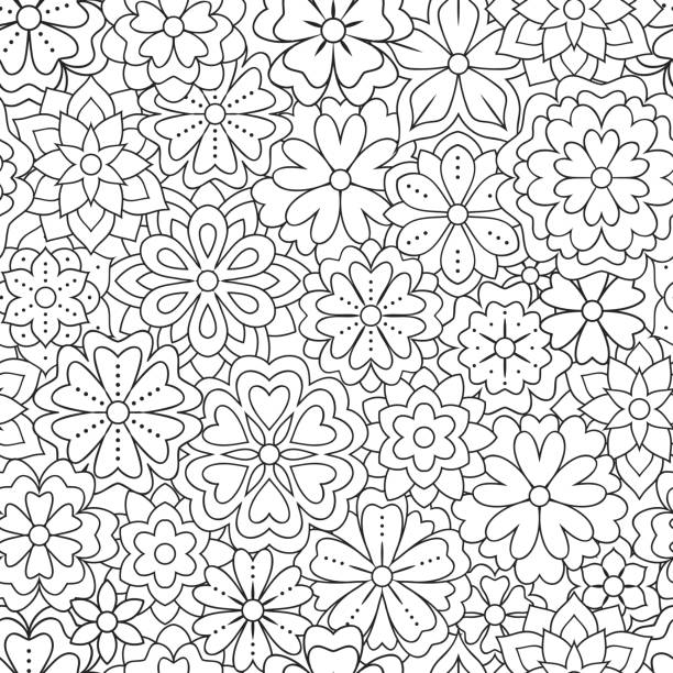 454 Daisy Coloring Pages Illustrations Royalty Free Vector Graphics Clip Art Istock