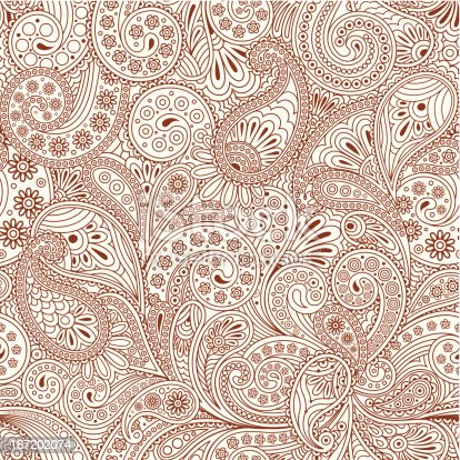 istock seamless pattern with paisley 167202074