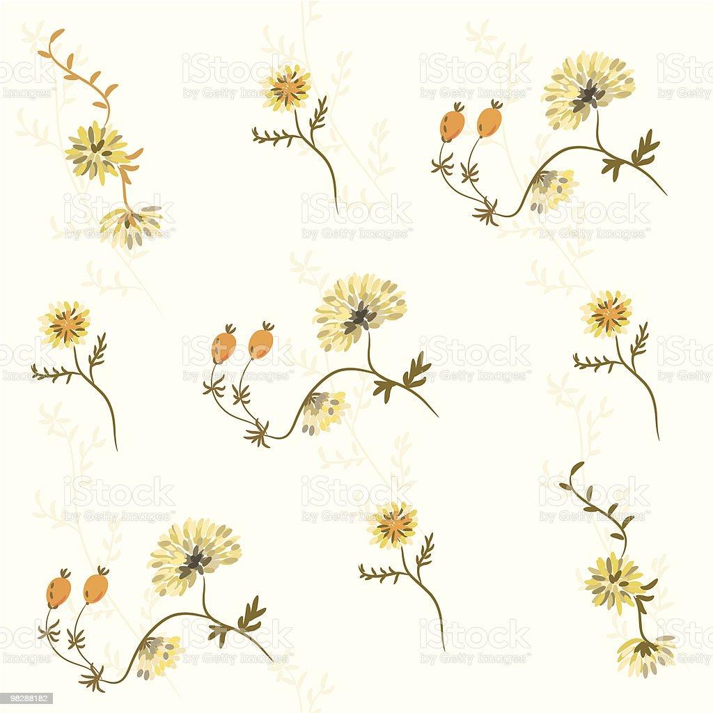 연속무늬, 파스텔 꽃 royalty-free 연속무늬 파스텔 꽃 0명에 대한 스톡 벡터 아트 및 기타 이미지
