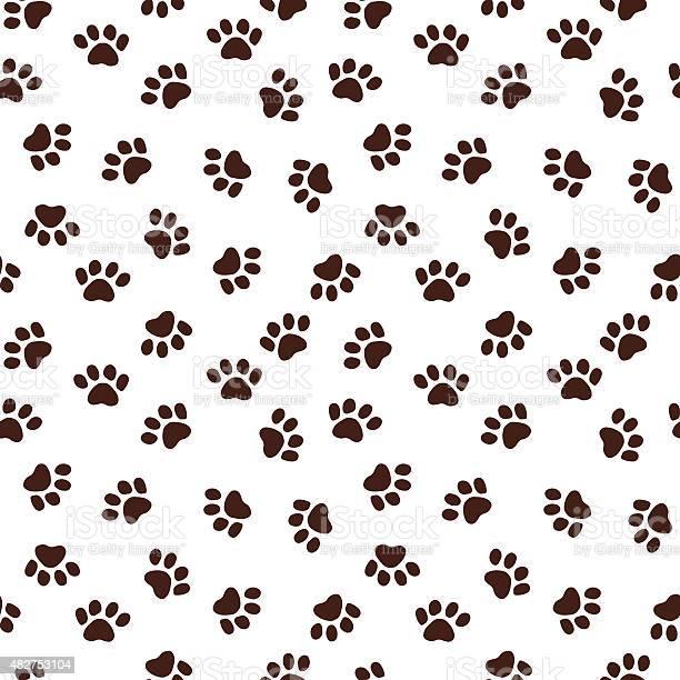 Seamless pattern with paw footprints vector id482753104?b=1&k=6&m=482753104&s=612x612&h=rqjx6ktpsvnvgpwsuzn14kb4i1vq8zxcja5qhwfdu6o=
