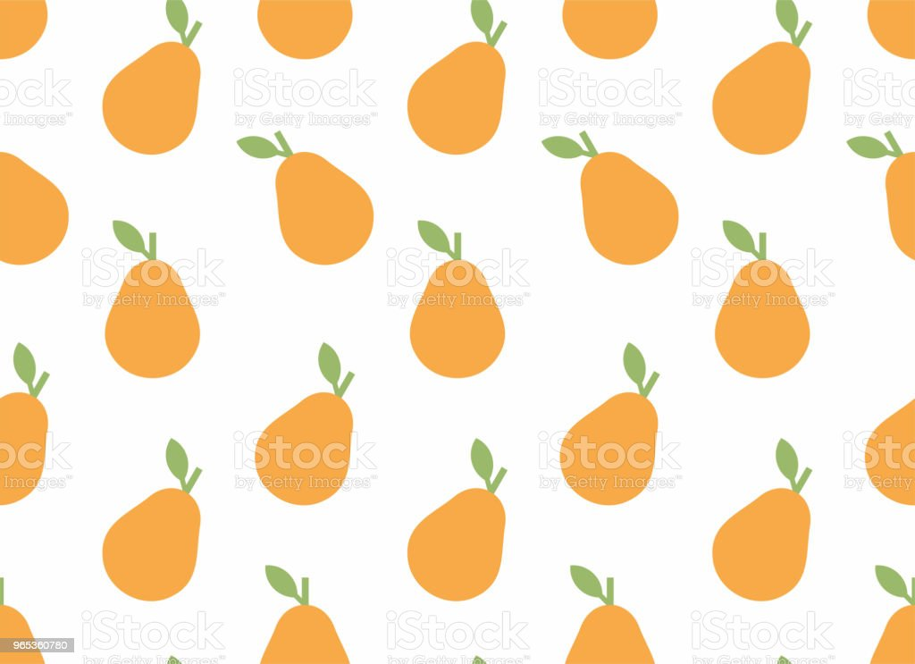 Seamless pattern with Pear seamless pattern with pear - stockowe grafiki wektorowe i więcej obrazów dekoracja royalty-free