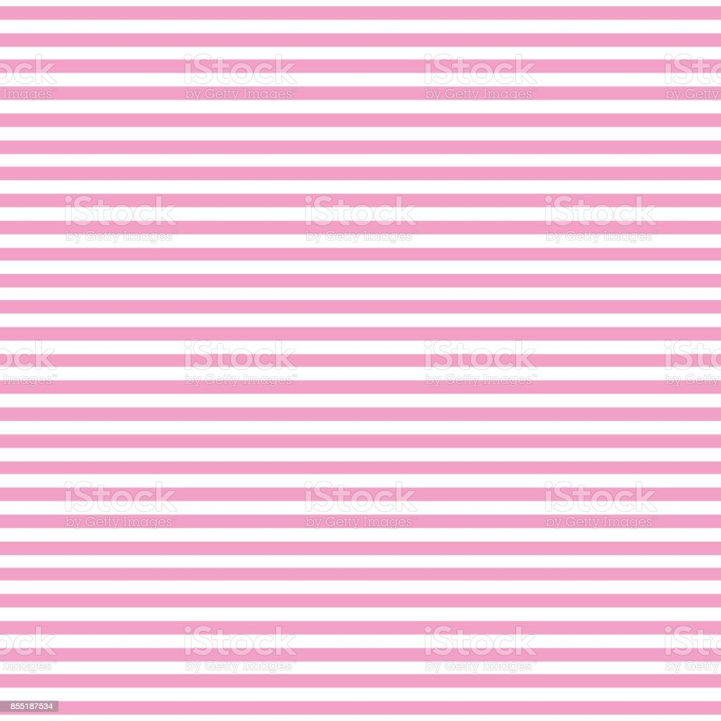Seamless pattern with pink two tone colors. Horizontal stripe abstract background vector. vector art illustration