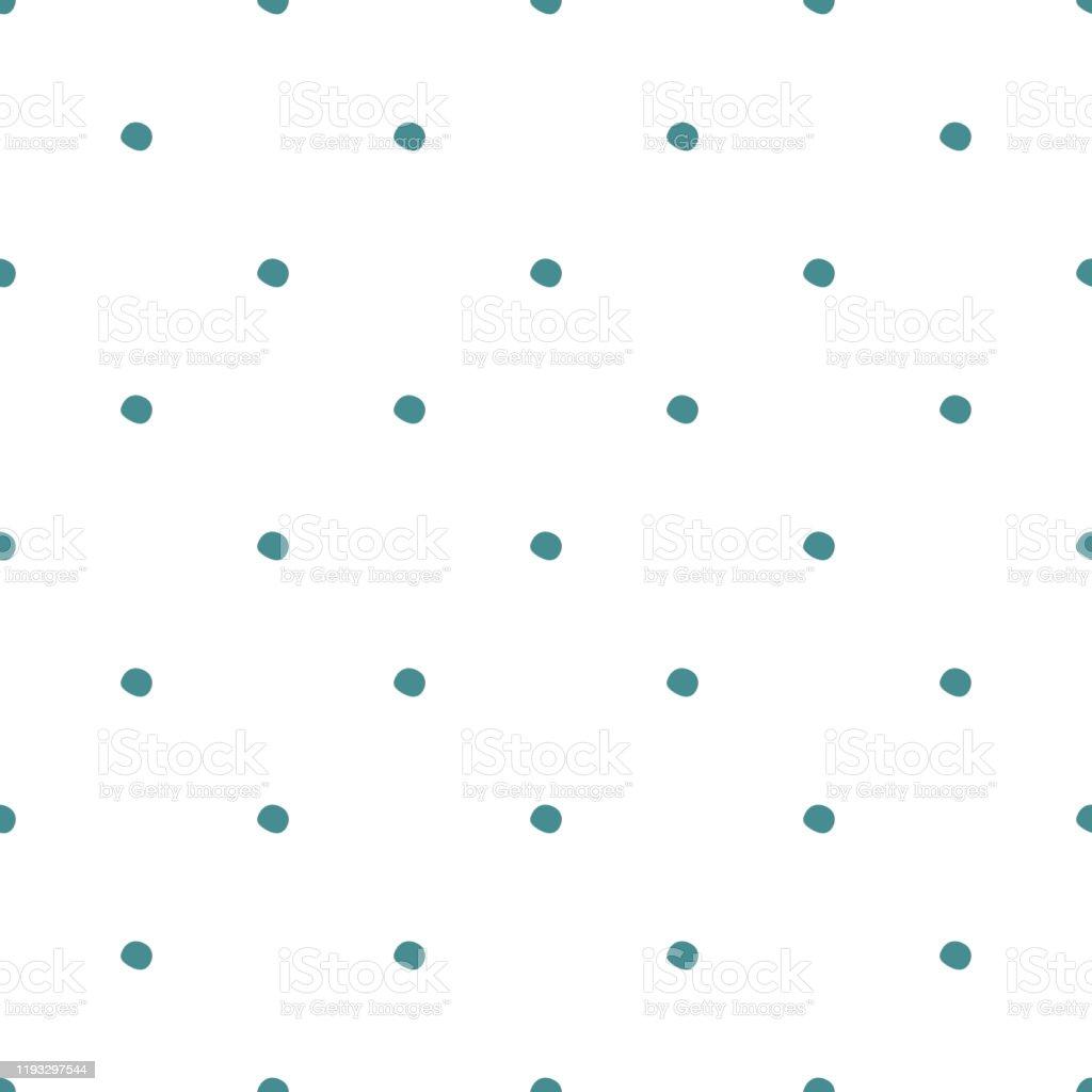白い背景に水玉模様のシームレスなパターンかわいい壁紙 イラストレーションのベクターアート素材や画像を多数ご用意 Istock