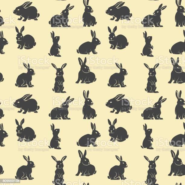Seamless pattern with rabbits vector design element vector id809959138?b=1&k=6&m=809959138&s=612x612&h=euvaqv84cpmkh20d0knqnwnbscslp x3d0 od5 pvqg=
