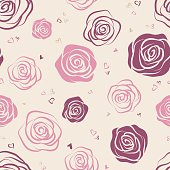 Elegant design for wallpaper, wedding invitations, greeting cards, scrapbook, textile print.