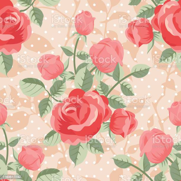 Seamless pattern with red roses vector id1163512232?b=1&k=6&m=1163512232&s=612x612&h=gvsv ul45hola0zr9ikvzqlzvfcj2ez7pjgdjnua2yi=