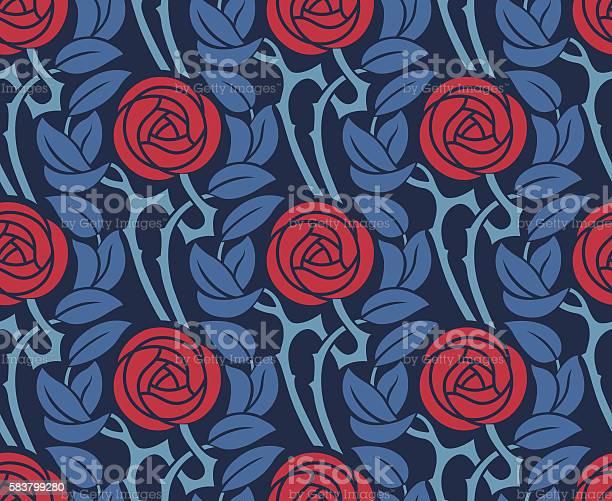 Seamless pattern with roses vector id583799280?b=1&k=6&m=583799280&s=612x612&h=zyspvav v9tz ryq6katb30xpxrjihhxz9eea3zleme=