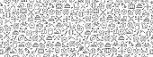 istock Seamless Pattern with Sport Icons 1224043496