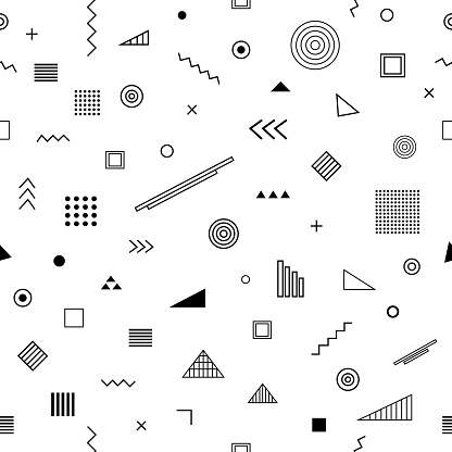 Seamless pattern with   style