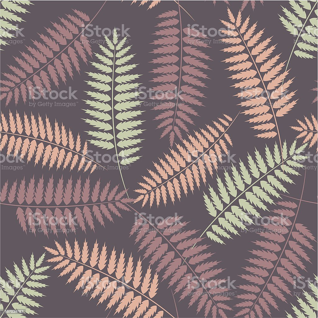 Seamless pattern with stylized fern leaves royalty-free seamless pattern with stylized fern leaves stock vector art & more images of abstract