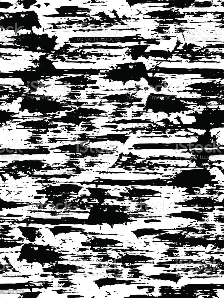 Seamless pattern with texture shelled surface. Background in black and white colors. Grunge. Ink and brush. Abstract. Hand drawn. Vector illustration. vector art illustration