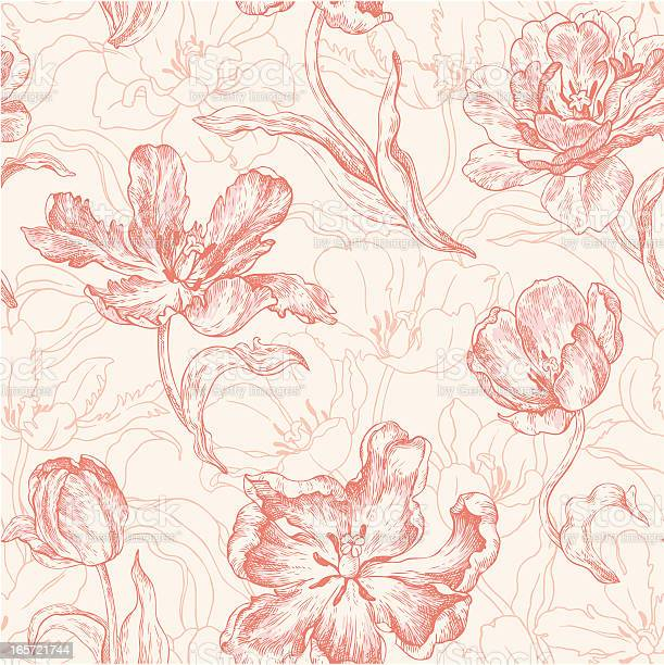 Seamless pattern with tulips vector id165721744?b=1&k=6&m=165721744&s=612x612&h=aqvfupnsurl54ugqkhfoeu4ourol9qxfk2eda cgc74=
